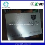 Customized Full Color Laser Wire Drawing Card / Laser Card