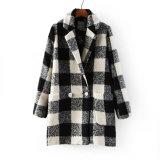 OEM Winter Coat 2015 Plus Size Fashion Women Overcoat