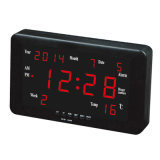 1.8 Inch & 0.8 Inch Popular Square Calendar Wall Clock