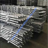 Safe SGS Passed Galvanized Scaffolding for Construction