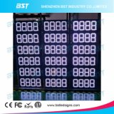 Outdoor Waterproof White Color Gas Price LED Sign (8888)