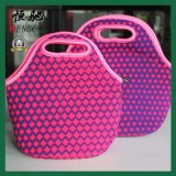 Promotional Cooler Insulated Neoprene Lunch Bag with Zipper