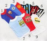 Design Sports Team European Pet Wears Football Club Jersey