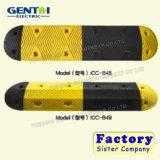 Economy Yellow/Black Recycled Plastic Speed Bumps