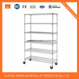 6 Tier Black Finish Heavy Duty Wire Display Stand