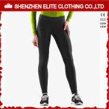 Women Wearing Black Yoga Wear Leggings Sport Fitness (ELTFLI-59)