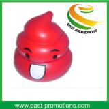 Custom Logo PU Foam Weird Feces Shaped Ball