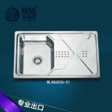 Kitchen Sink Stainless Steel Single Bowl Wla8650-a