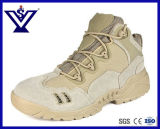 Black Breathable Military Boots Combat Army Ankle Shoes (SYSG-1108B)