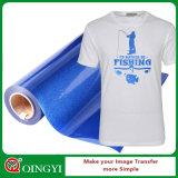 Qingyi Beauty and Factory Low Price Glitter Heat Transfer Vinyl for Garment