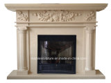 Home Decoration Cheap Marble Fireplace (SY-MF177)