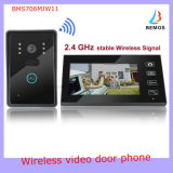 "7"" 2.4G Wireless Video Door Phone Intercom Doorbell"
