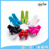 Creative Design High-Heeled Shoes Shape Unique Silicone Phone Holder