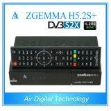 Hevc/H. 265 Multistream DVB-S2+DVB-S2/S2X/T2/C Triple Tuners Zgemma H5.2s Plus Dual Core E2 Combo Receiver