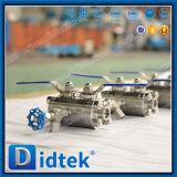 "Didtek Manual 1/2"" NPT Double Block & Bleed Valve Dbb Ball Valve"