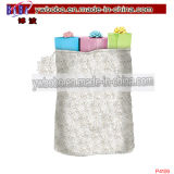 Promotional Bag White Roses Packaging Bag Wedding Decoration (P4109)