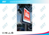 P5 Street Lighting Pole Outdoor Advertising LED Display Screen with Smart Phone Design