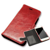 Universal Smart Phone Wallet Style Leather Case Clamshell Phone Case Factory
