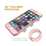 Full Body Coverage Protective Phone 360 Degree Case Cover Tempered Glass for iPhone 7
