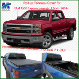 100% Fitment Roll up Bed Cover for RAM 1500 Express Crewcab1.5cab