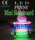 Kid′s LED Light Flash Clear Deck Skate Board Skateboard