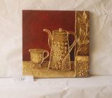 Gold Cup Pattern Home Decorative Canvas Hanging Painting