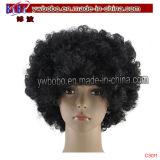 Halloween Carnival Clowen Costume Accessory Hair Afro Wig Cap (C3011)