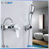 China Single Lever Brass Bathtub Faucet Mixer with Hand Shower Head
