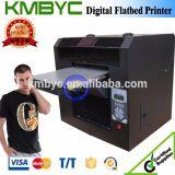 A3 Size Digital All Color DTG Flatbed T-Shirt Printer
