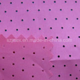 Polyester Pongee Punched Fabric for Bonding