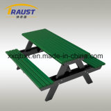 Outdoor Aluminum Picnic Table and Bench, Public Furniture for Garden.