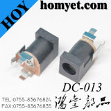 Hot Sale Vertical DIP Female DC Connector DC-013 DC Power Jack 3 Pin