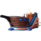 Private Ship Inflatable Castle Inflatalbe Slide for Sale (HL-9601)