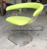 Metal Leisure Restaurant Cushion Outdoor Furniture Steel Wire Chair