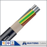 Underground Cable with PVC Insulation and PVC Sheath Nayy Nyy Cable