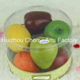 Transparent PVC Box Decoration Simulation Fruit