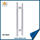 Stainless Steel Door Handle with Middle Satin Pull Handle