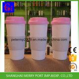 Free Sample Avaliable 500ml 18oz Eco-Friendly Plastic Coffee Mug