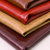2017 Oily and Waxy Feel PU Synthetic Leather for Furniture
