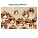 E27 Colors Available Blown Glass Pendant Lights for Bar Restaurant