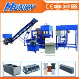Qt4-20 Automatic Production Line Brick Machine, Road Construction Equipments Concrete Block Making Machine