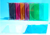 5.2mm CD Jewel Case with Black Tray
