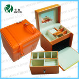 Lovely Beauty Leather Cosmetic Case (HX-PP-131)