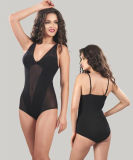 Sexy Semitransparent Camisole/Attractive Black Tanktop Lady/Women Lingerie