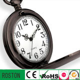 Water Resistant Quartz Movement OEM Pocket Watch
