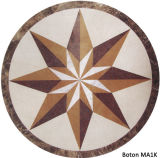 Stone Waterjet Medallion Inlay Mosaic Pattern Round - Ma1k