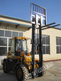 Rough Terrain Forklift Cpcy30 with 3000 Loading Capaciry