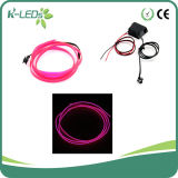 2m Flexible EL Wire Neon Purple Light for Car