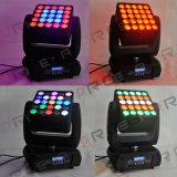 25X10W Infinite Matrix Blinder RGBW LED Moving Head DJ Light