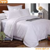 100%Cotton Simple White Color Hotel Comforter Set (DPF90108)